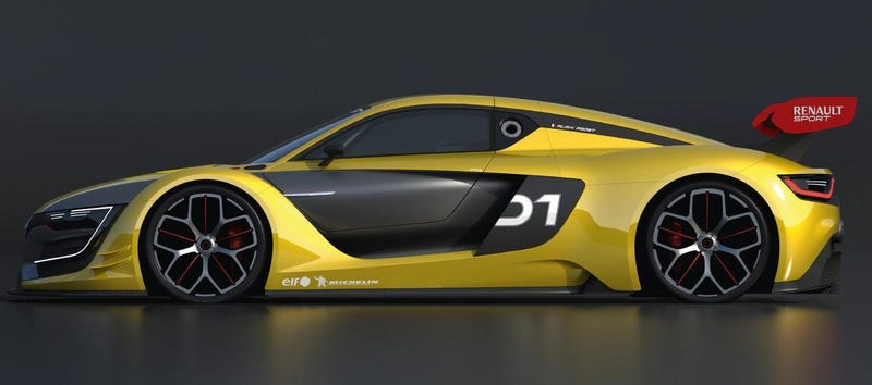Is The Renaultsport R.S. 01 An Audi R8 Copy Or A Victim Of Design?