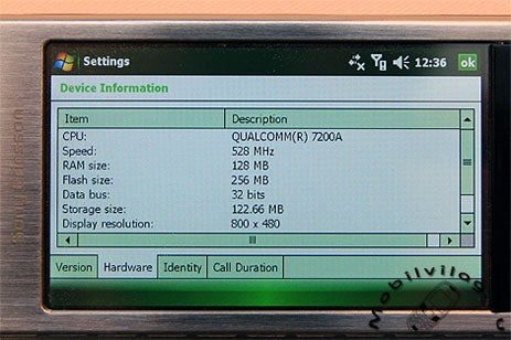 Sony Ericsson Xperia X1 Runs Windows Mobile 6.1