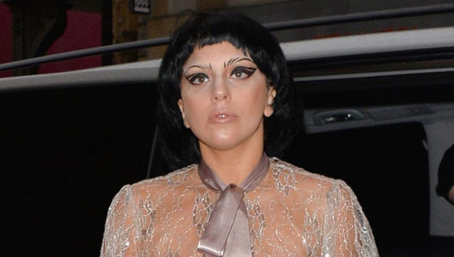 Lady Gaga Is Totally Copying My and Beyoncé's Personal Bangs