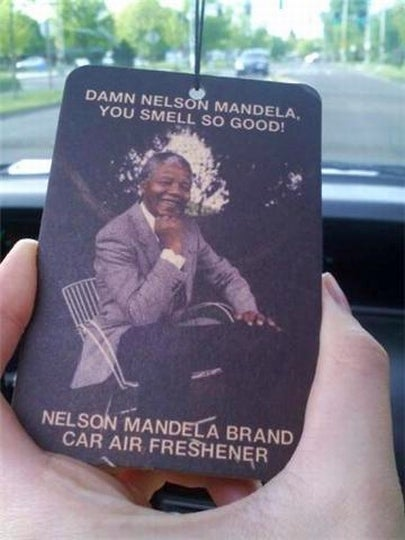 Nelson Mandela Smells So Damn Good!