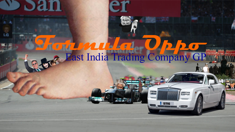 Formula Oppo: The East India Trading Co. Grand Prix of Britannia