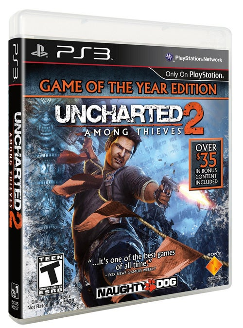 Uncharted 2 Gets A Well-Deserved Game Of The Year Edition