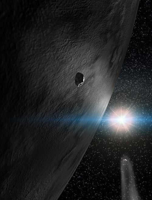 Scientists Discover Giant Asteroid Covered In Ice