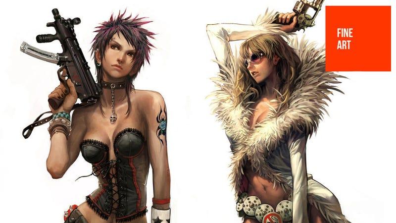 Guns, Pretty Ladies & Street Fighters