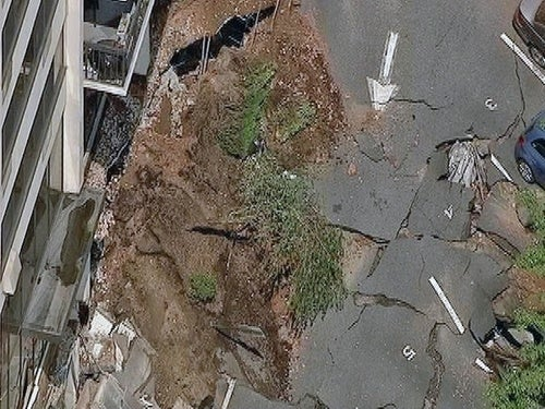New Jersey Parking Garage Collapses