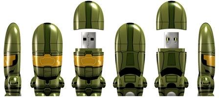 Halo Master Chief Mimobot Thumb Drives (Finish the File Transfer)