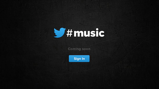 Leaked Details of Twitter Music Show That It'll Connect to Spotify, Rdio, iTunes and More
