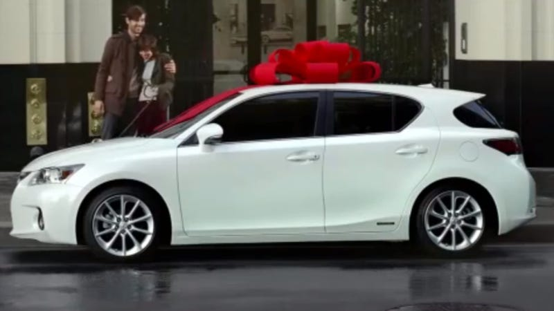 """Great, Six Years Of Car Payments!"" — Your Lexus Christmas Ad Parody Roundup Is Here"