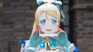 The Cosplay and Anime Gap Bridged By an iPad