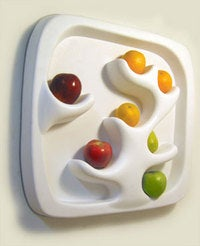 Still Life Wall Mounted Fruit Holder