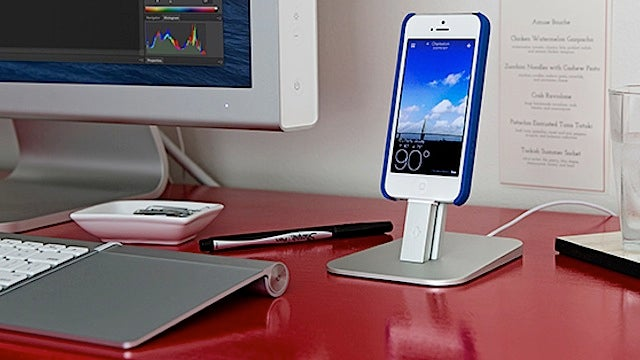 The HiRise Is an Adjustable and Elegant Stand for the iPhone and iPad Mini