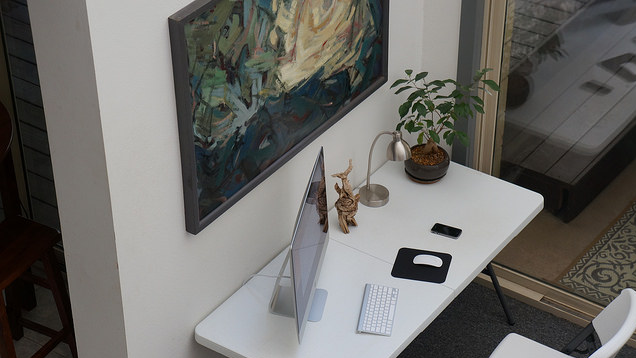 The Artsy, Folding Table Workspace
