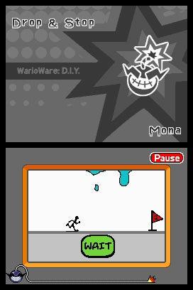 WarioWare D.I.Y. Screen Shots