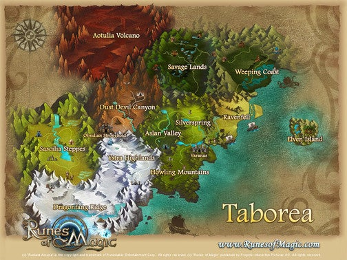 Runes Of Magic: The Changing Face Of Taborea