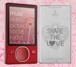 Microsoft Valentine's Day Zune Delayed; Sorry Seems to be the Hardest Word