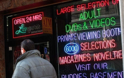 New York City Wants to Close All Its Porn Stores