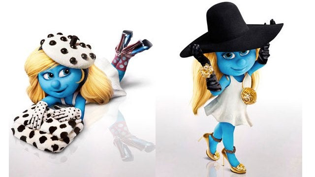Smurfette Fashion Show: Kill It With Fire