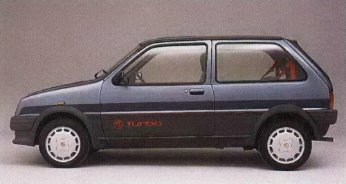Long Lost Hot Hatches - The MG Metro Turbo
