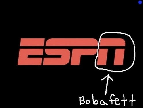 "Yes, The ""N"" In ESPN Looks Like Boba Fett"