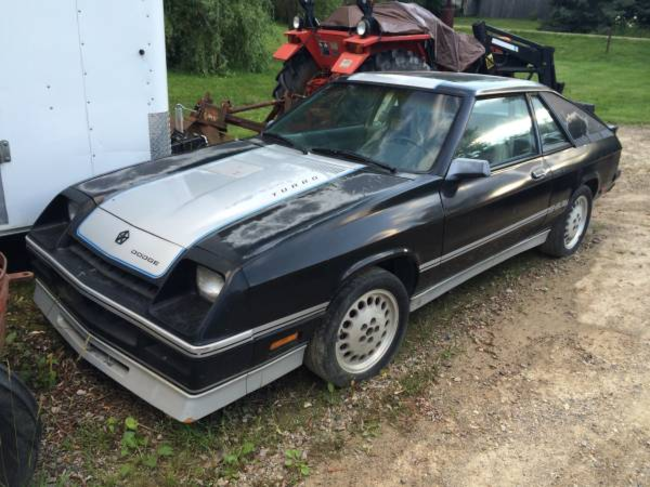Let your man out with this '87 Shelby Charger