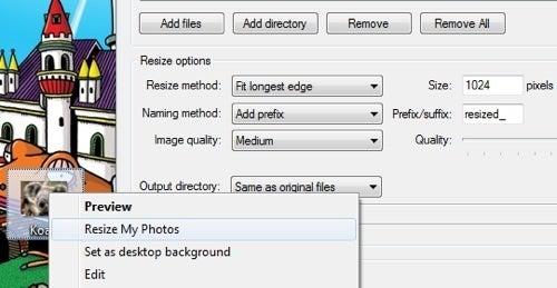 Resize My Photos Batch Resizes Photos Quickly