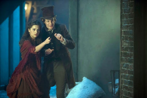 Doctor Who Christmas Special Promo Photos