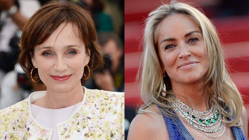 Kristin Scott Thomas, Sharon Stone, and Feelings About Aging