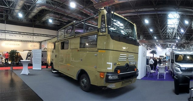 The World's First Convertible Motor Home Is One Obscene Creation
