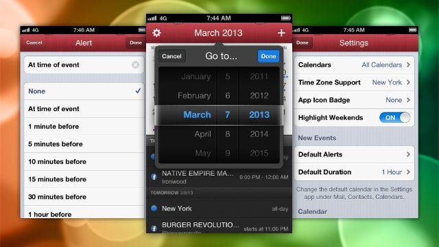 Fantastical Adds Time Zone Support, Multiple Alerts, and More
