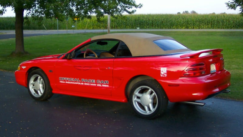 Used Car Face Off: Can Indy 500 Pace Car Replicas Be Tasteful?