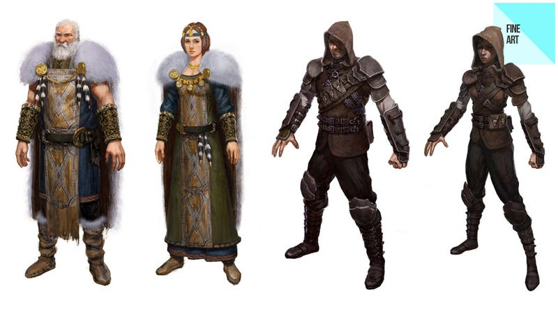 The Jarls, Jesters and Thieves of Skyrim