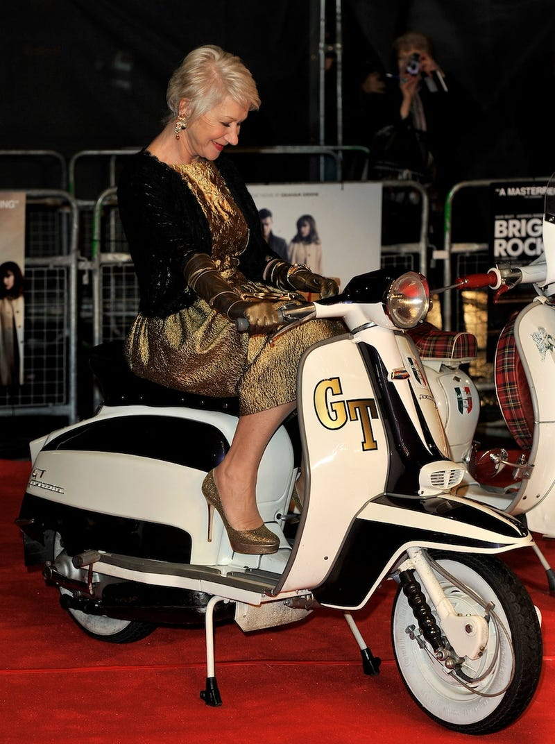Dame Helen Is the Leader of a Dangerous New Scooter Gang