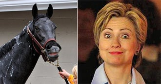 Culprit Found In Eight Belles Tragedy. It's Hillary, Of Course