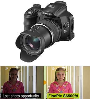 New Fujfilm S6000fd Camera Spots Faces