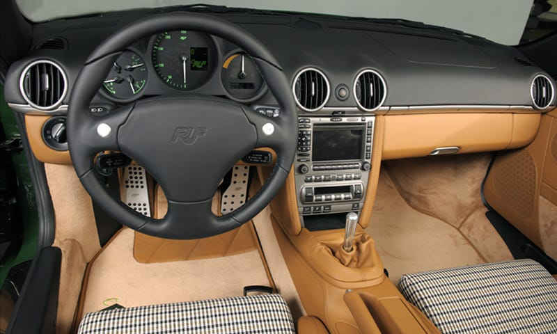 RUF eRuf Greenster Electric Porsche Zaps Geneva