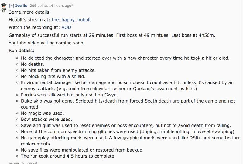 Dark Souls Player Beats Game Without Getting Hit Xuất hiện game thủ 'phá đảo' Dark Souls mà không dính một đòn nào 2