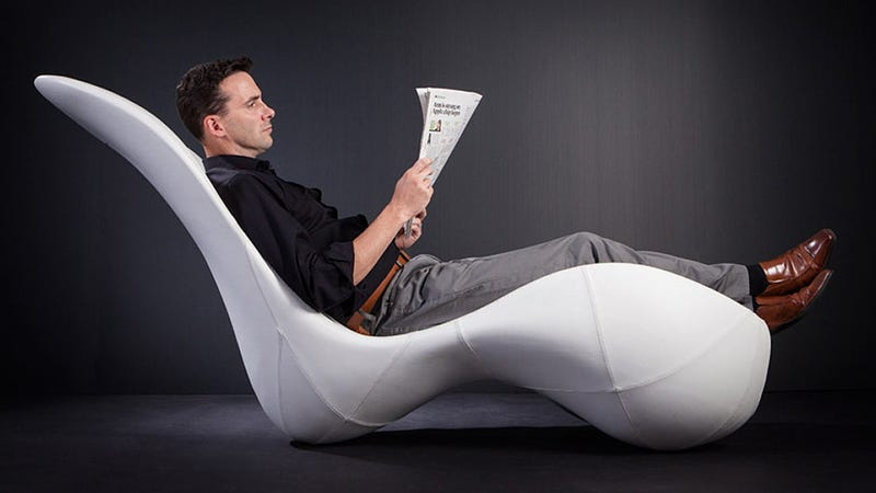 Watch This Lounger Free Up Floor Space When You Climb Off