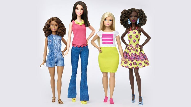 Barbie Is Finally Available In Three New Body Types