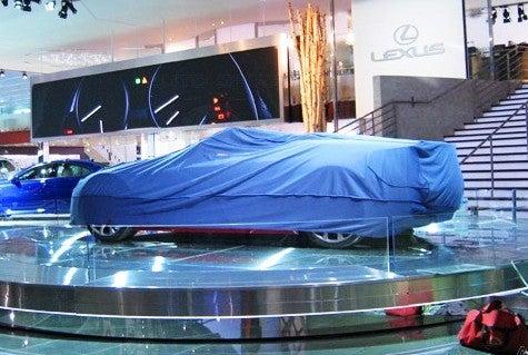 Detroit Auto Show: Lexus Convertible Concept?