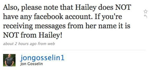 Jon Gosselin Makes Important Announcement About Hailey Glassman