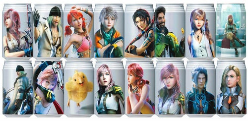Final Fantasy XIII Drink Dated