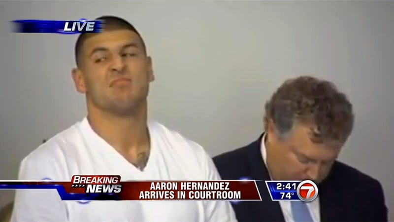 Football Star Aaron Hernandez Charged With Murder