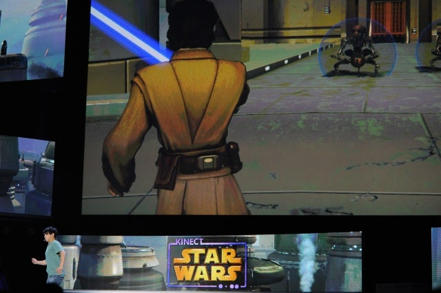 Kinect Star Wars Will Make You Say 'Lightsaber ON!'