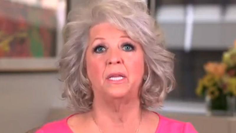 The Food Network Fires Paula Deen for Obvious Reasons