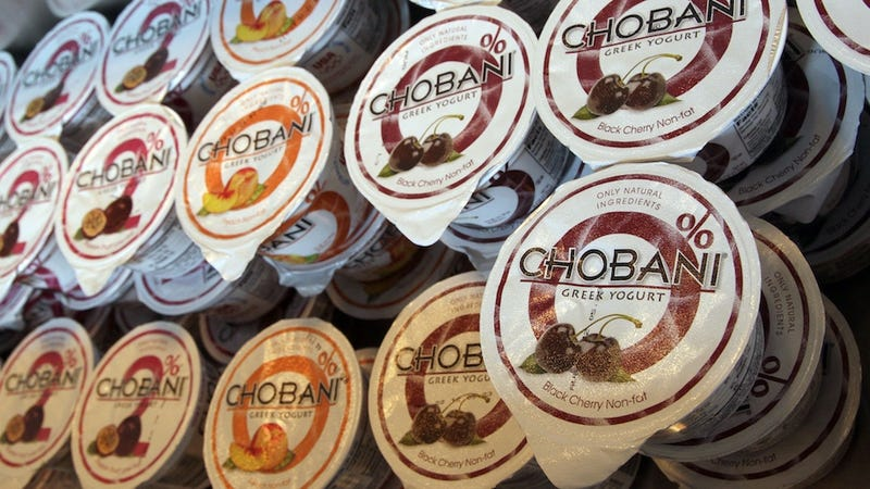 Yogurt Wars: Chobani Founder Is Accused of Stealing Recipe From Fage