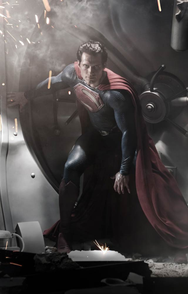 First Look at the Badass New Superman