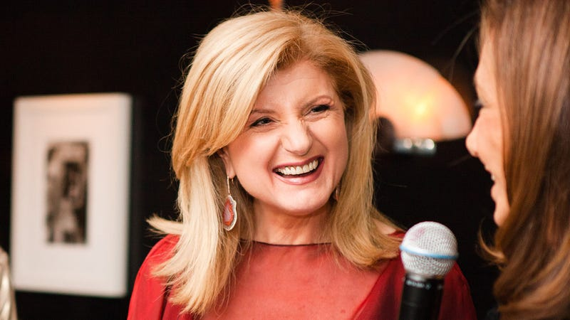 In Vogue, Arianna Huffington Is Accused of Thick Makeup and Selling Out