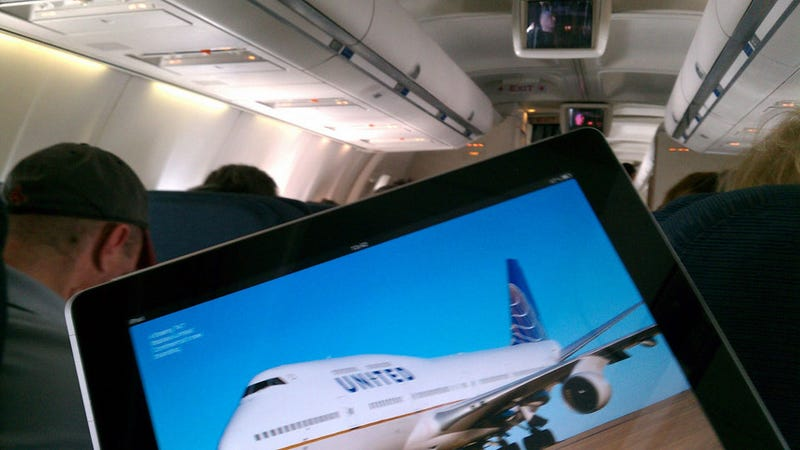 Nerds Bravely Fight for iPad Airplane Rights