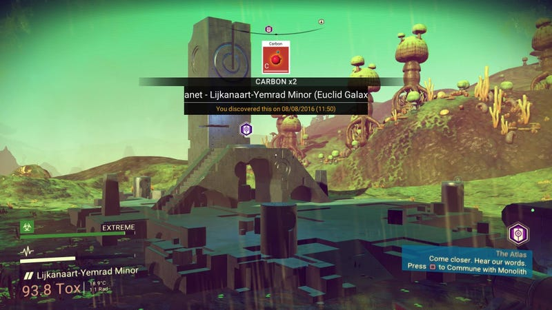 Two Hours With No Man's Sky: A Diary