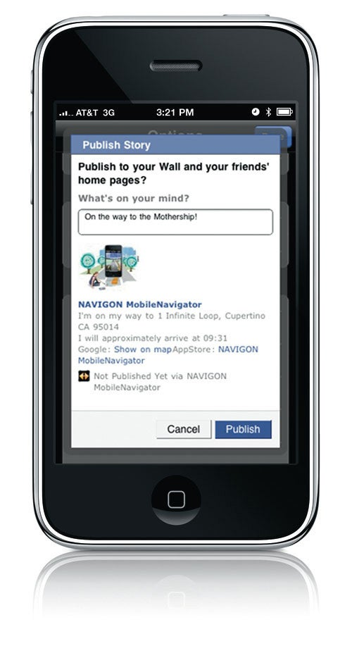 Navigon iPhone App Update Gallery